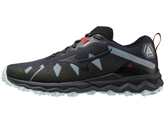 Mizuno Wave Daichi 6 Shoes Men, india ink/black/ignition red